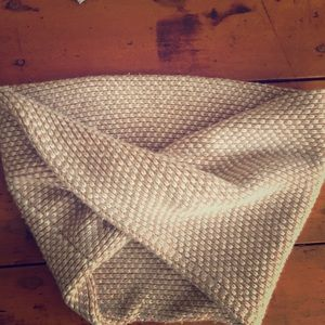 Cashmere wool blend J Crew scarf